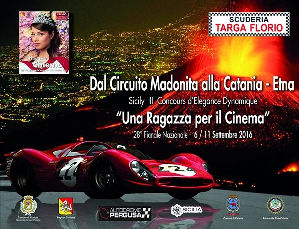 Concorso di Eleganza Dinamico Dal Circuito Madonita alla Catania/Etna 2016