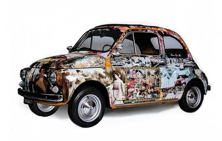 Una volta...i Florio e la Targa. Una Fiat 500 dedicata ai Florio e alla corsa leggendaria